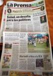 La Prensa, Panamá. 24 de marzo.